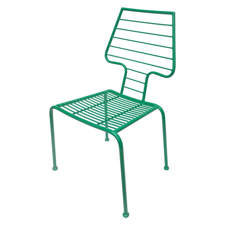 Jade Modern Metal Stack Chair
