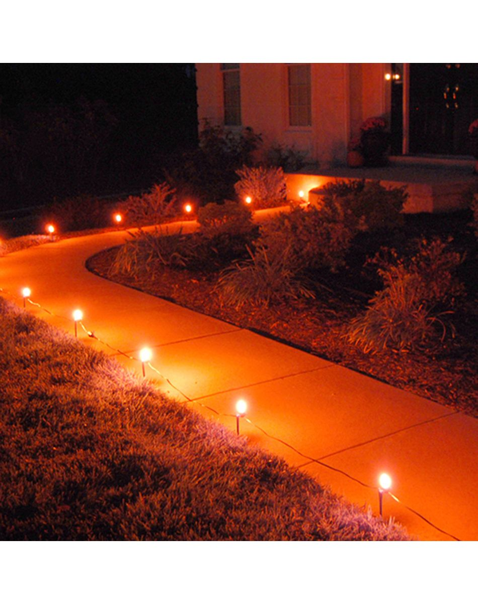 these would be great coming up my driveway 0 halloween pathway lights spirit halloween - Halloween Pathway Lights