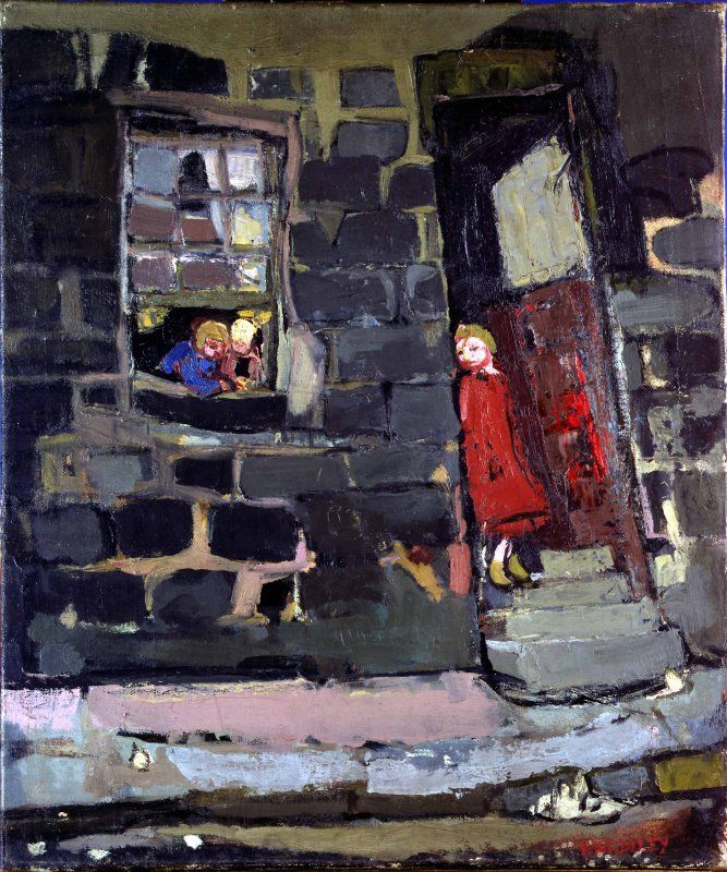 Joan Eardley (IF Gabrielle Munter had grown up in Halifax...)