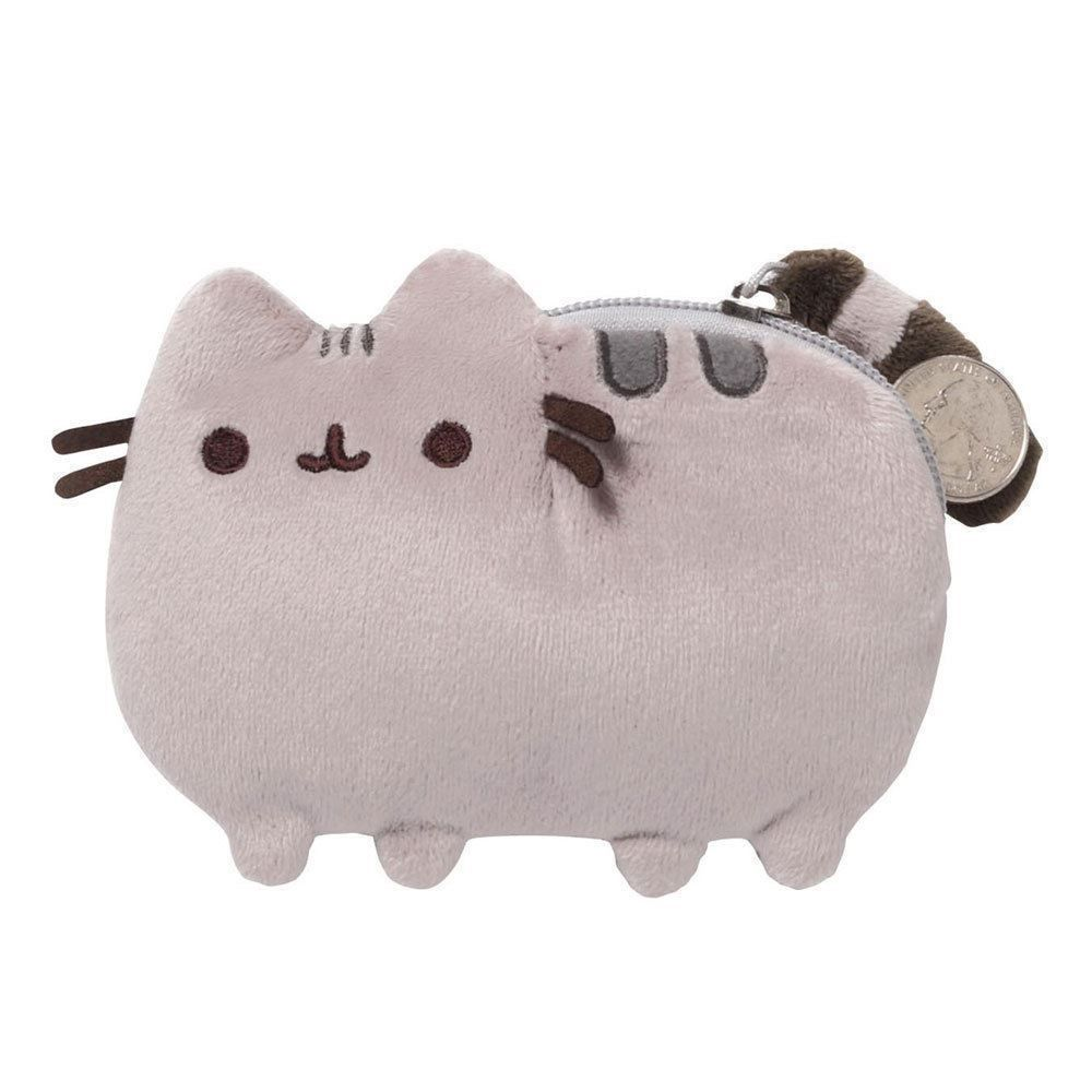 Pusheen The Cat Small Coin Purse Gund Girls Money Pouch Gift Free Shipping New Gund Animal Coin Purse Pusheen Cat Plush Pusheen Plush [ 1000 x 1000 Pixel ]
