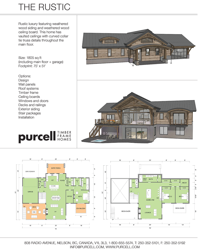 Purcell Timber Frames - Full Home Packages and Prefabricated Houses ...