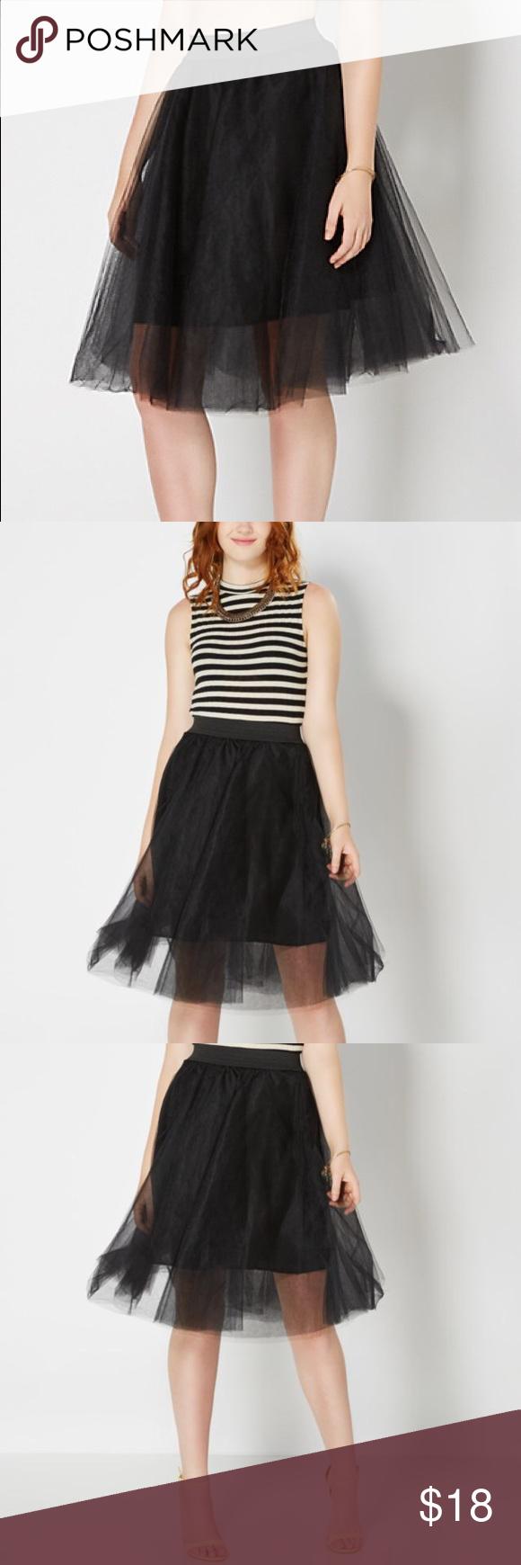 SALE Black tulle ballerina skirt Black tulle skirt with