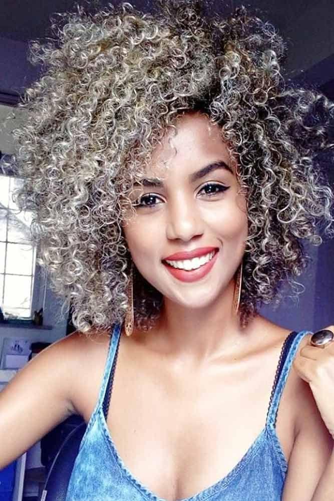 30 Fancy Ideas To Style Short Curly Hair Hairhairhair
