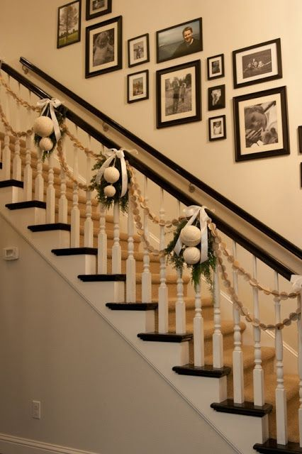 A Delightful Design Christmas Decorating 101 Stairs