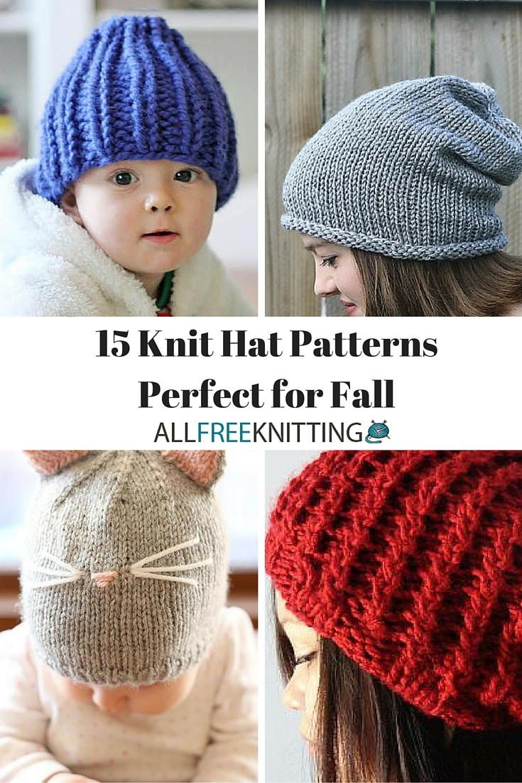15 knit hat patterns perfect for fall knitted hat patterns knit 15 knit hat patterns perfect for fall bankloansurffo Gallery