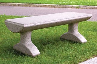 Model Sl502 Precast Concrete Bench Outdoor Bench Concrete Bench Concrete
