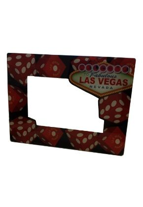 Hold your Las Vegas memories or any memories in this ceramic \