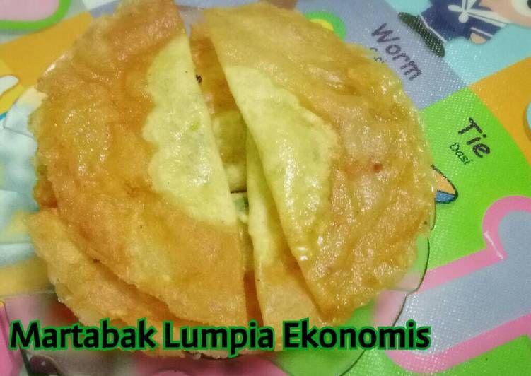 Resep Martabak Lumpia Ekonomis Ala Jajanan Di Sekolah Oleh Niabundaalif Blogspot Com Resep Lumpia Semarang Cemilan Adonan