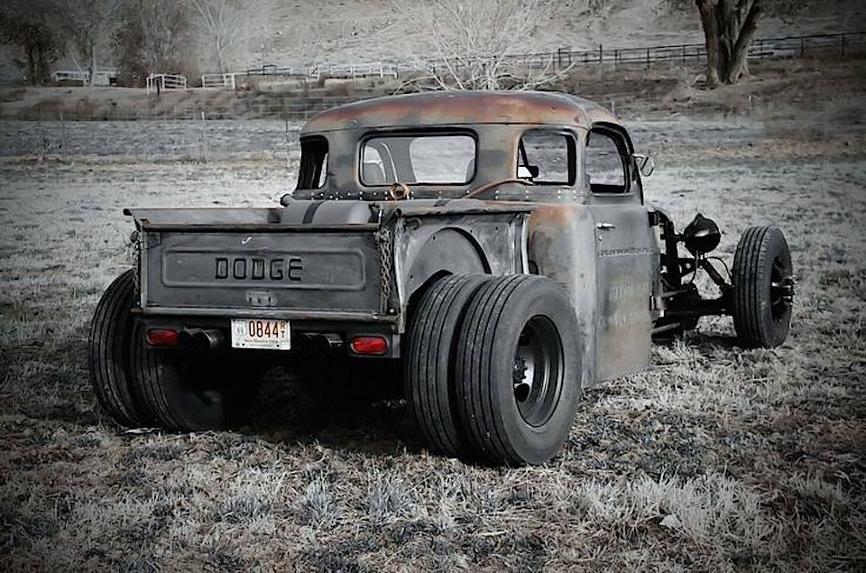 RAT ROD ⚔ | Rat Rod Dually trucks | Dodge dually, Rat rod ...