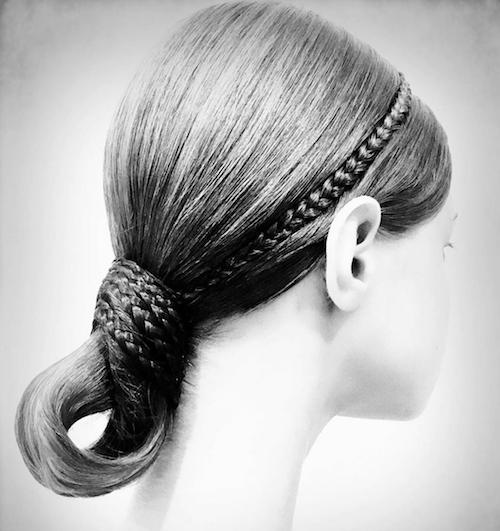 Valentino / Hair By Guido Palau At Paris Couture Fashion Week 2019.  Don't forgot to check out our favorite hair at Paris Couture Fashion Week 2019!   #pariscouture #hautecouture #highfashionhairstyle #Chanel #Chanelhair #Valentino #Valentinohair #Fendi #Fendihair #Dior #Diorhair #Givenchy #MaisonMargiela #ViktorandRolk #GiambattistaValli #ArmaniPrive #ParisCoutureFashion #ParisCoutureFashionWeek2019 #FashionWeek2019 #FashionWeek #ParisFashionWeek2019 #ilesformula #GuidoPalau