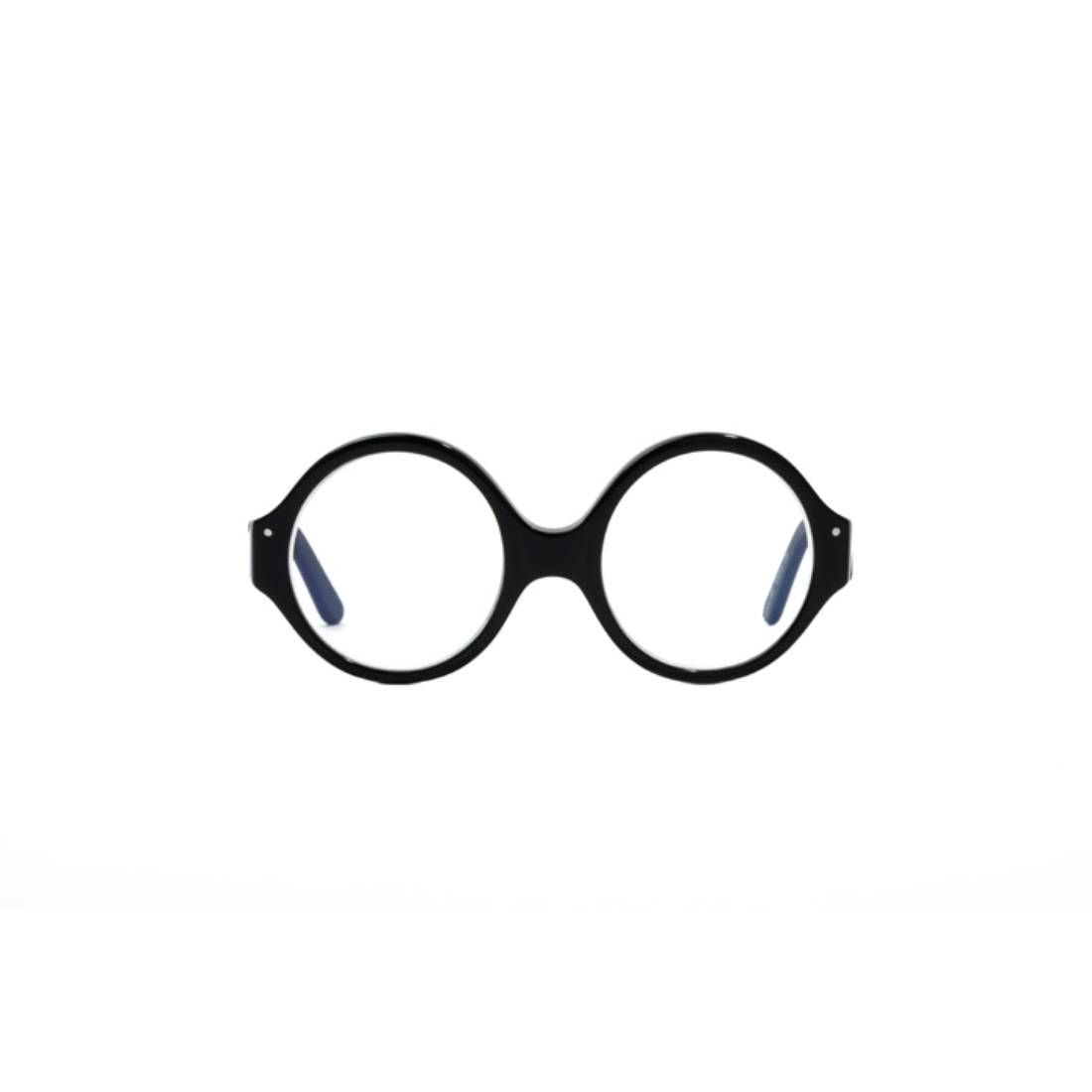 """Very Boss"" circular black rim children's glasses by Very French Gangsters. Ages 3-5. Unisex."
