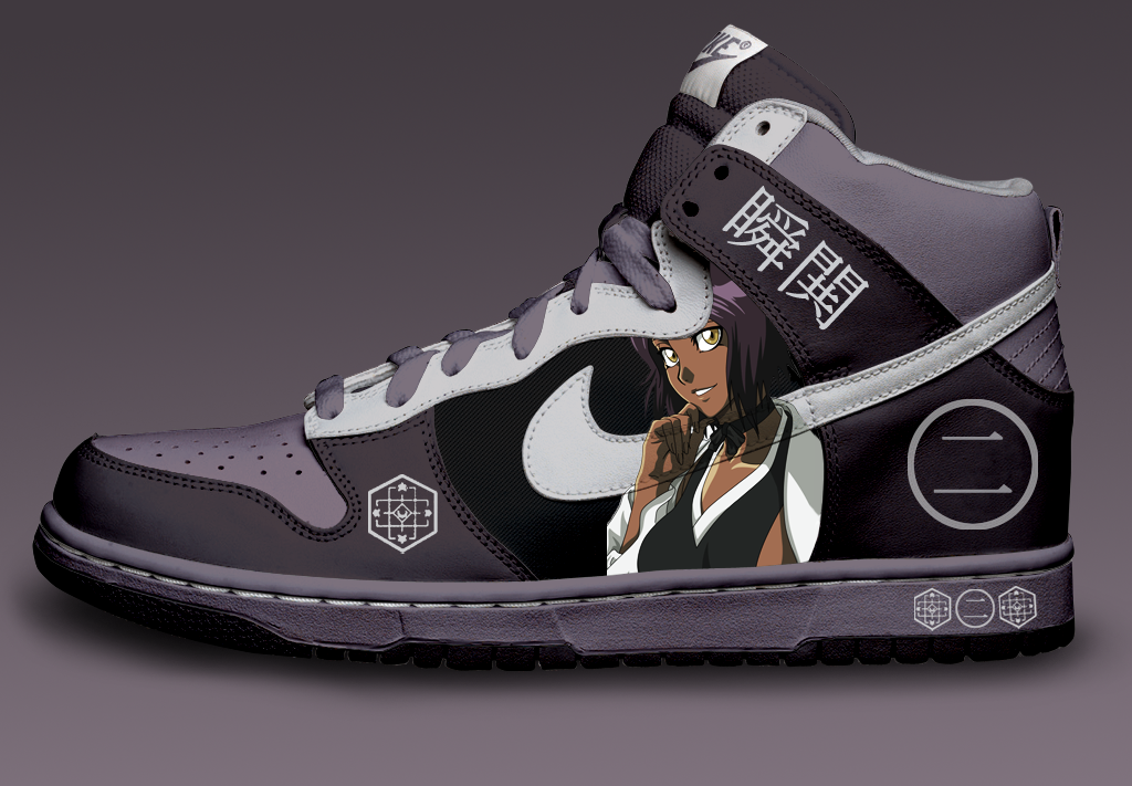 Yoruichi Custom Nike Dunks by