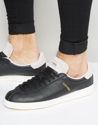 Adidas Originals Formateurs Topanga En Noir - Noir q3Cg8ZO