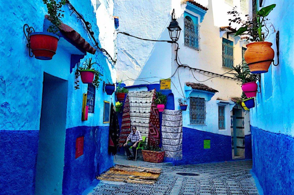 Chefchaouen The Blue City In Morocco In 2020 Blue City Chefchaouen Morocco
