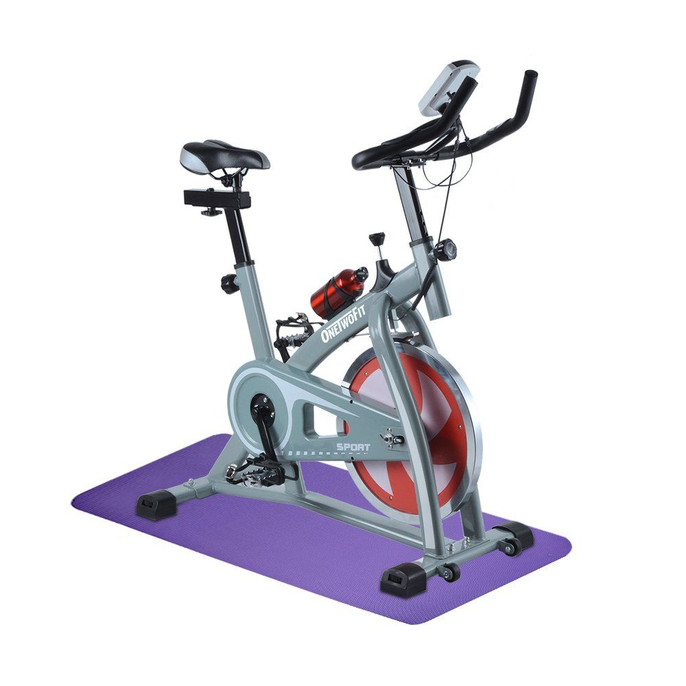 Onetwofit Indoor Exercise Bike Cycling Spinning Bike Home Gym