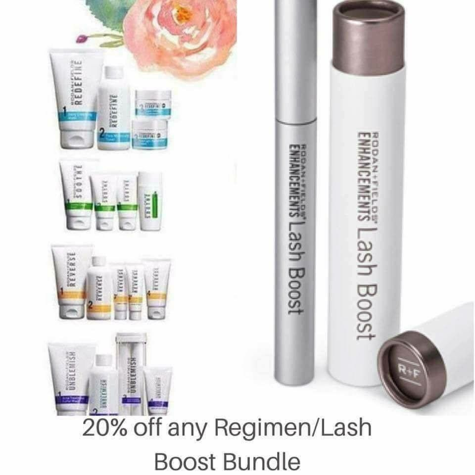 f7bb38ee57e NEW BUNDLE SPECIAL ❤ When you purchase a Regimen + Lash Boost Bundle  Special you will receive 20% off PLUS 10% off & FREE shipping when you  become a ...