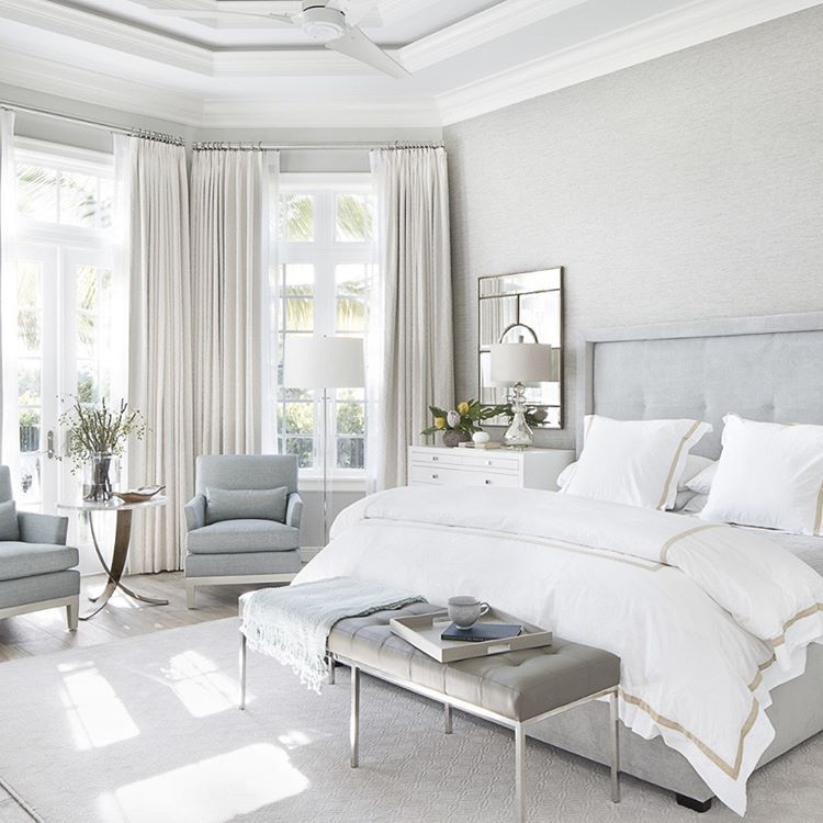 What Makes You Get Up In The Morning With A Big Smile On Your Face From Pinterest Bedroom Bedro White Master Bedroom Master Bedrooms Decor Bedroom Nook