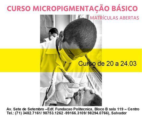 Fátima Gomes Estetic Center                         : Curso de Micropigmentaçao com Especialização Fio a...