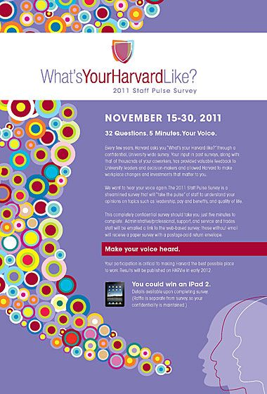 Taking the pulse of Harvard Employee engagement - employee survey