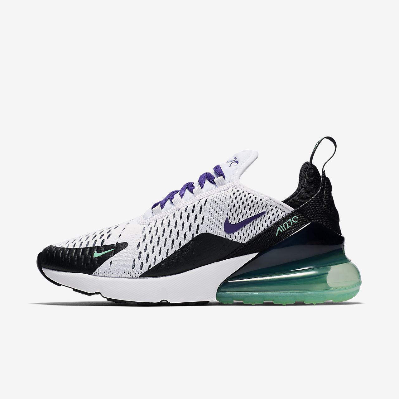 nike schuhe,Nike Air Max 270 AH6789 103 Women White Black