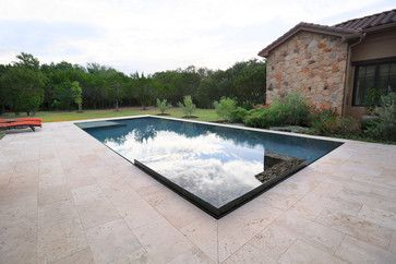 Perimeter Overflow Pool Austin By Design Ecology Overflow Pool Small Pool Design Modern Pools