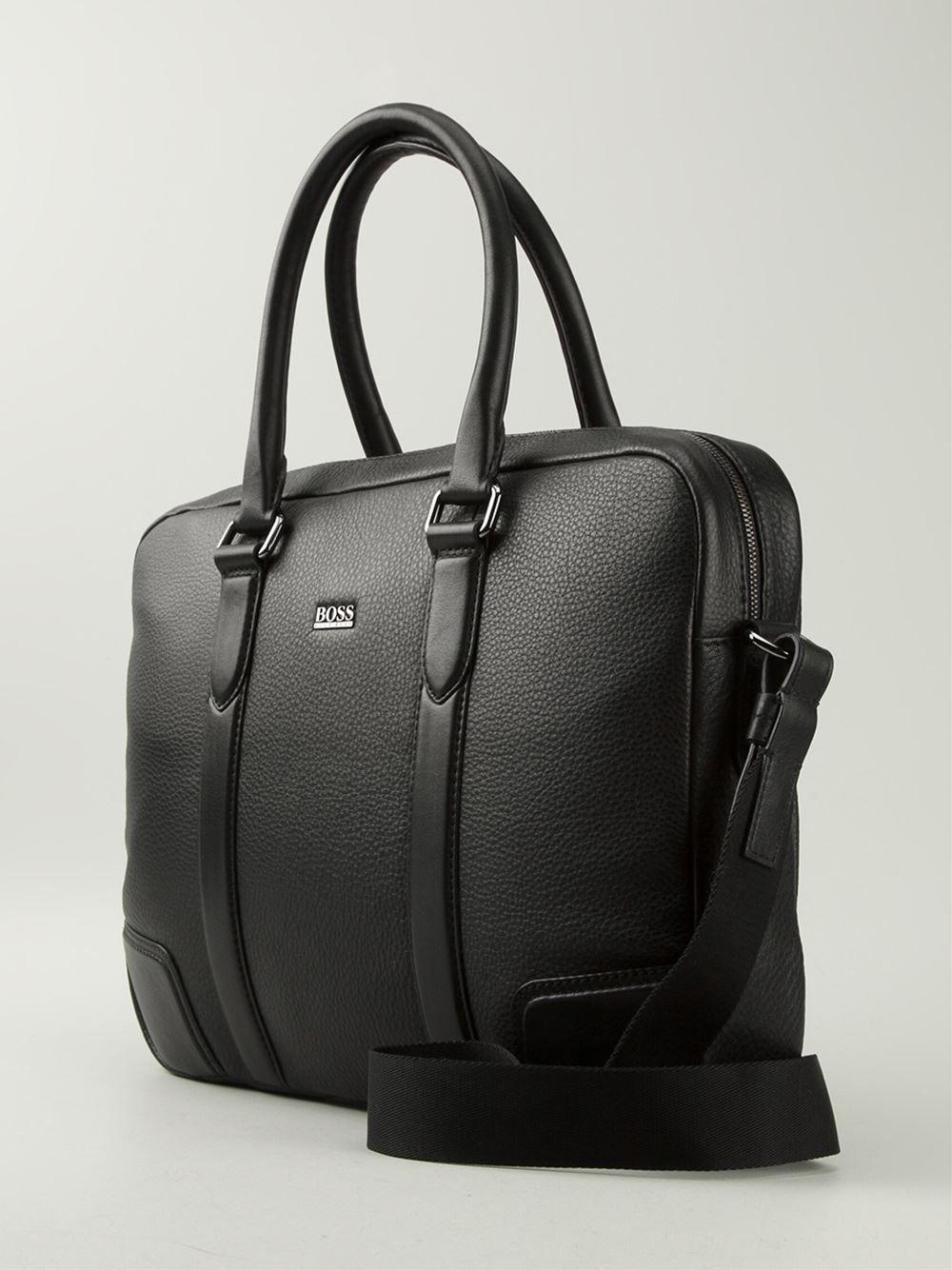 Boss Hugo Boss Laptop Shoulder Bag - United Legend Mulhouse - Farfetch.com 48f6d42353d8c