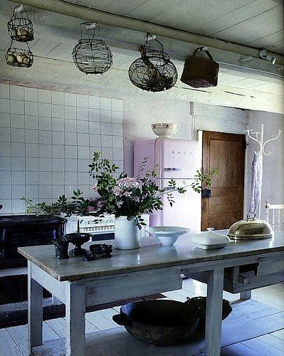 Landhaus Blog  Landhausstil Küche u2013 4 Einrichtungsideen Boho - einrichtung ideen landhausstil