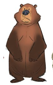 Zootopia Concept Bear Bear Character Design Bear Cartoon Character Design
