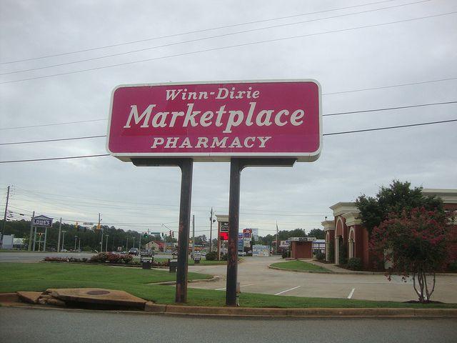 WinnDixie roadside sign by CBunny, via Flickr Roadside