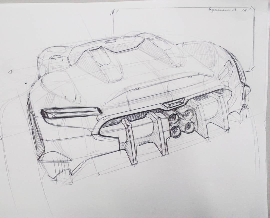 Sketch Design Automotive Cardesign