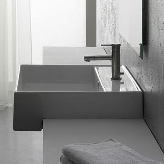 Awesome Sink That Can Stick Out On Front If We Need More Depth
