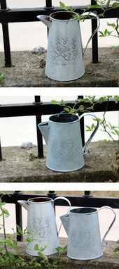 Vintage Watering Can for an antique garden  Vintage Watering Can for an antique garden