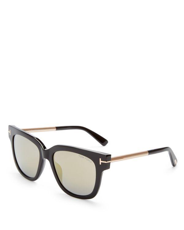 5e165b1942 Tom Ford Tracy Mirrored Square Sunglasses