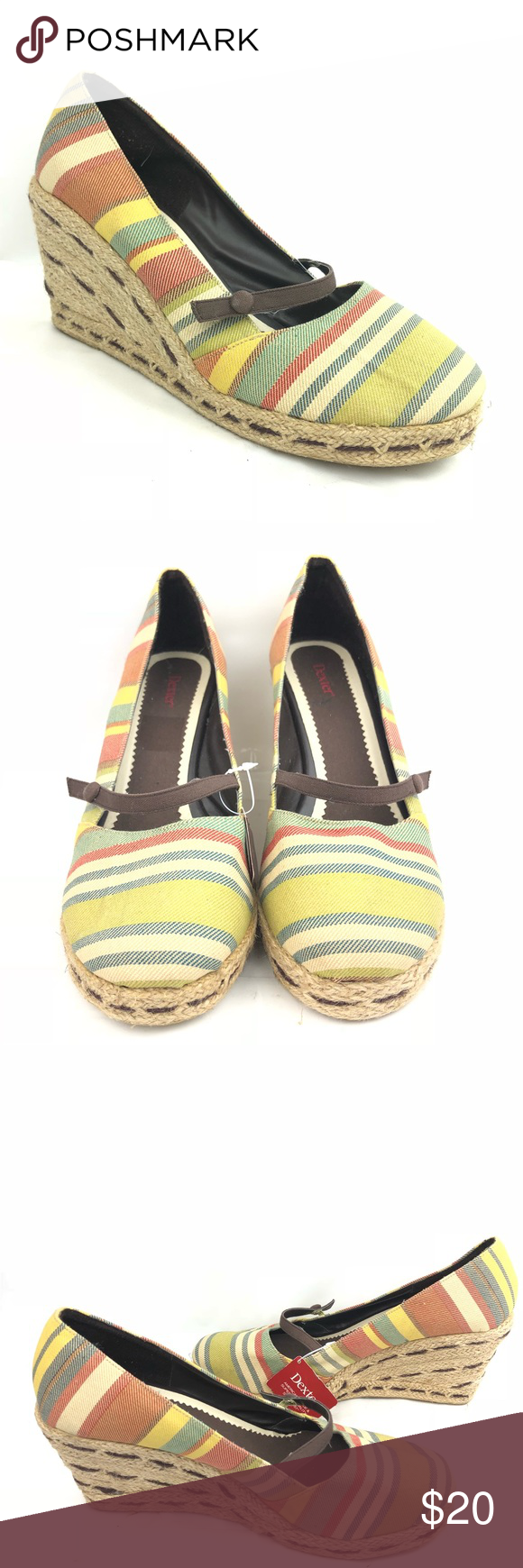 bb7073fb20c2 Dexter Wedge Heel espadrilles NEW Size 10 Dexter Wedge Heel espadrilles NEW  Size 10 Dexter Shoes Wedges