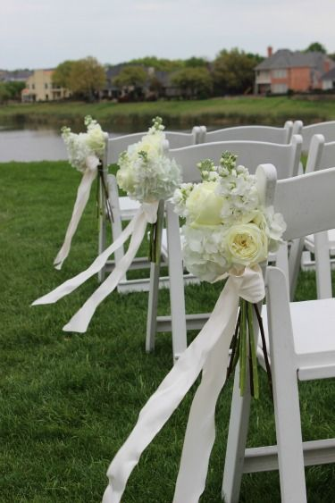 all white flowers for weddings aisle flowers stonebridge ranch country club posh floral