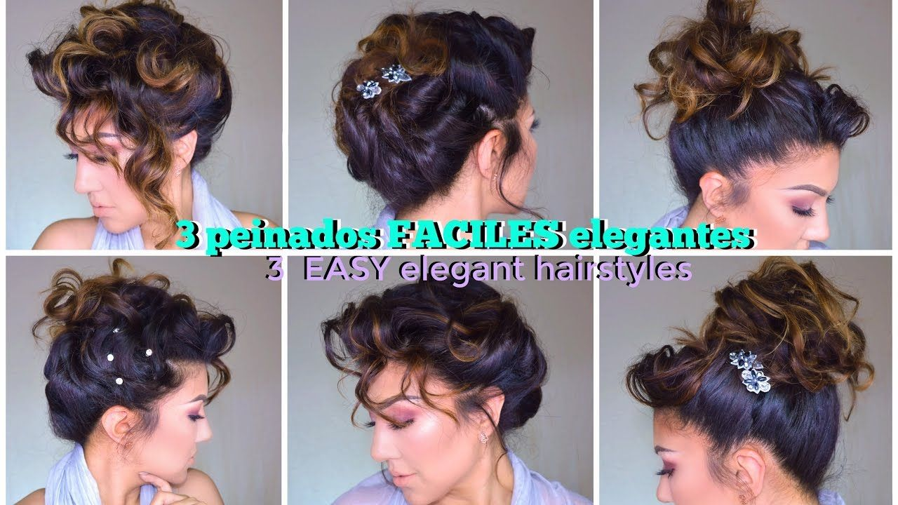 peinados faciles para fiesta easy formal updo hairstyles