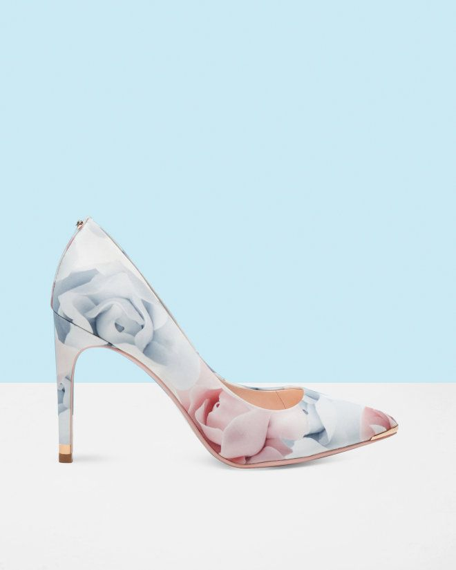 Porcelain Rose court shoes Nude Pink | Shoes | Ted Baker