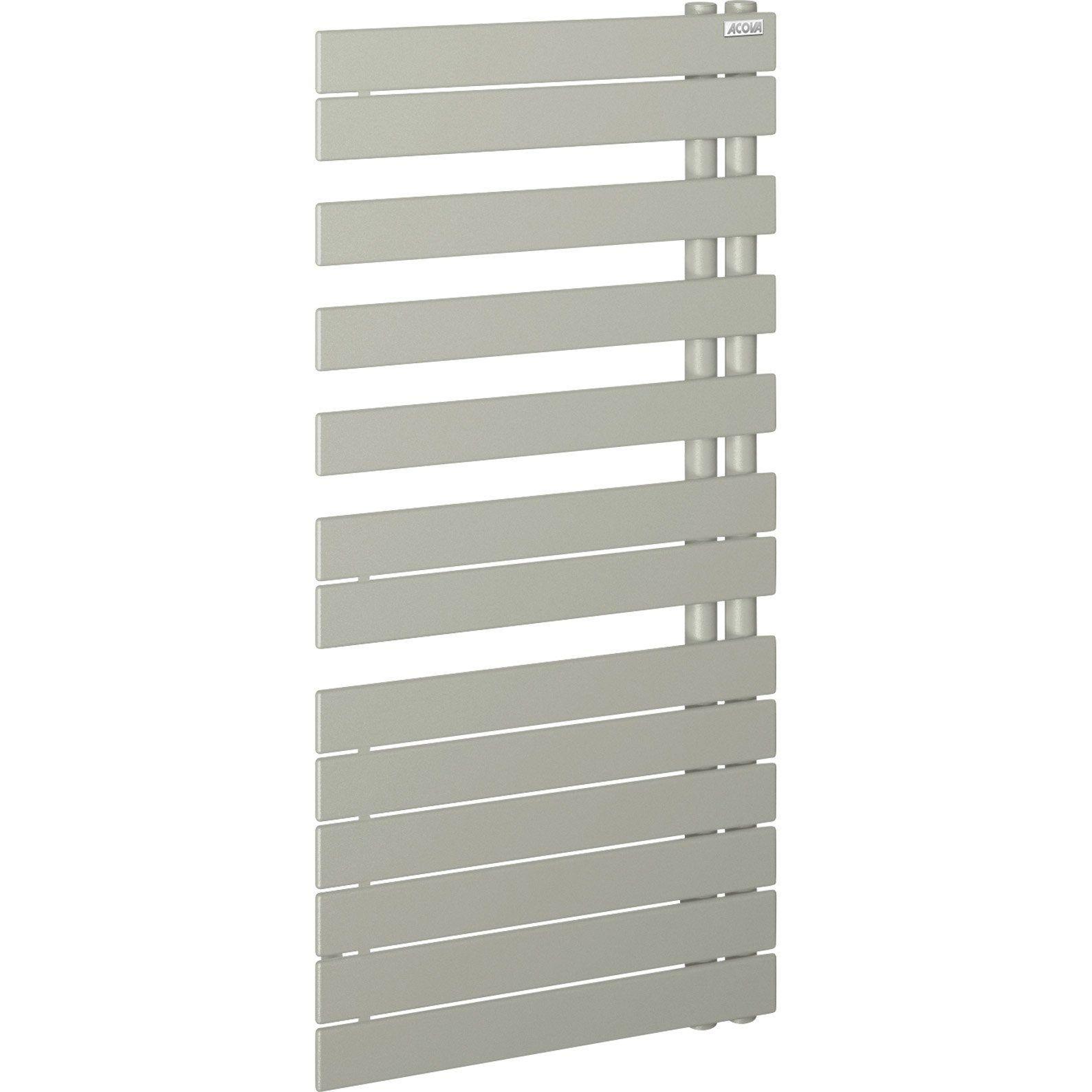 Seche Serviettes Eau Chaude Acier Acova Alpaga White Aluminium 564 W Avec Images Serviettes Seche Serviette Eau Chaude