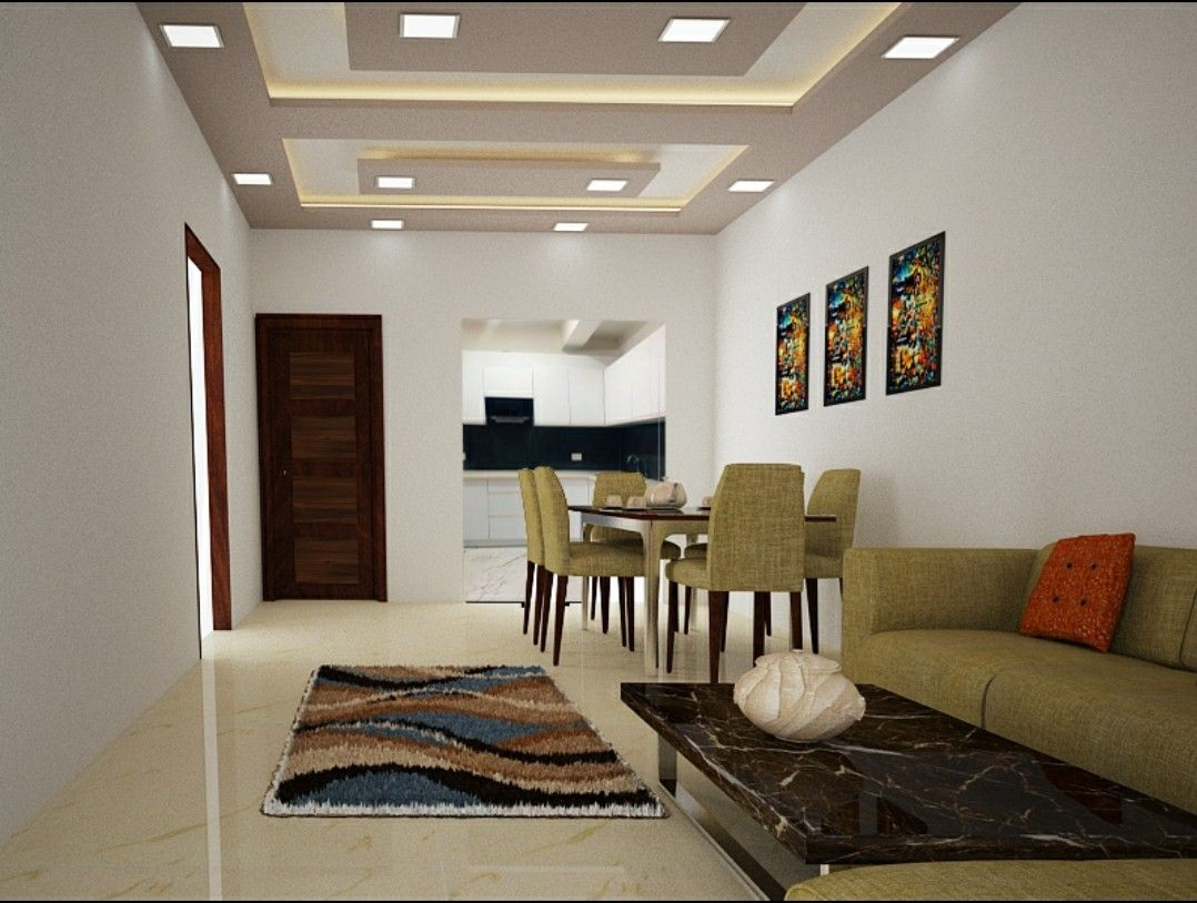 49cbf173d15c5ebbce9940eb86d80edb - View Small Space Living Room Small House False Ceiling Ceiling Designs Pictures