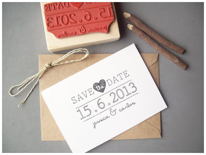 How To EasyDIY Your Wedding Stationery – Diy Wedding Save the Date Ideas