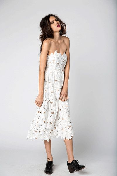 TENNESSEE DRESS WHITE Stone Cold Fox Modern Lace