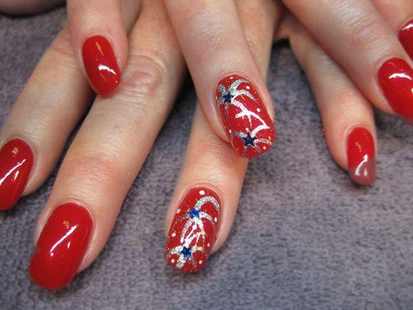 America the beautiful patriotic nail art by amy scarlata nail america the beautiful patriotic nail art by amy scarlata prinsesfo Gallery