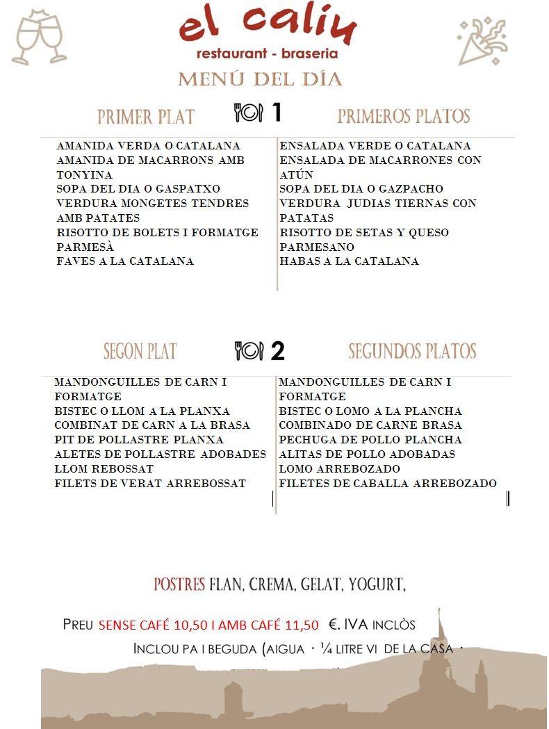 10++ Primeros platos de menu trends