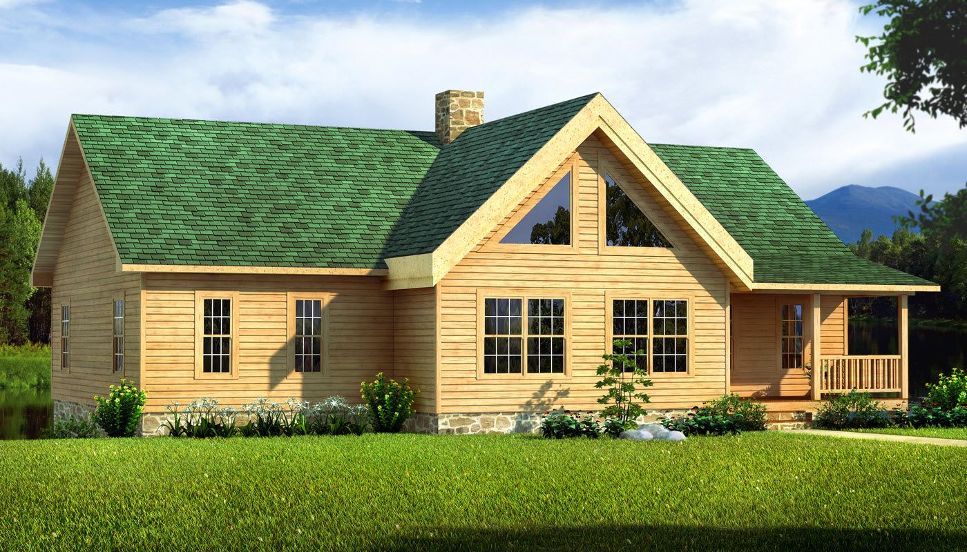 Texan Log Cabin Floor Plan Southland