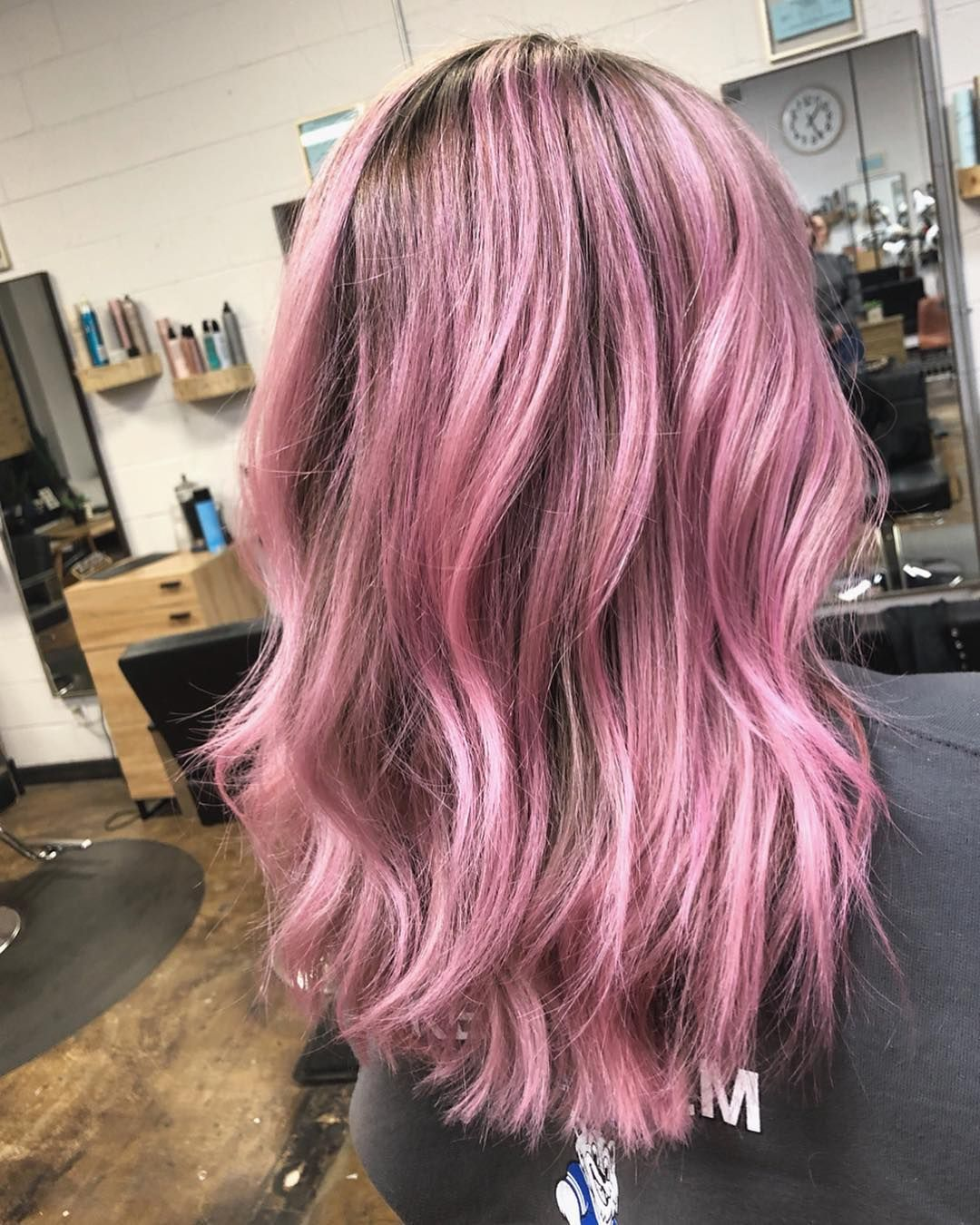 Spring We Are Ready For You Haircolor Pink Pinkhair Love Hair Bala Lavender Hair Hair Color Hair Styles