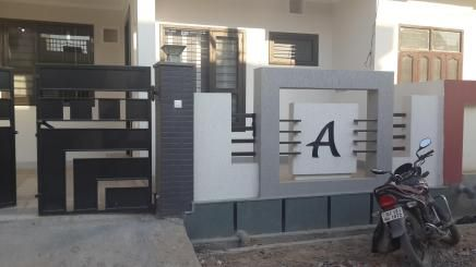 Front House Boundary Walls In 2019 Front Wall Design