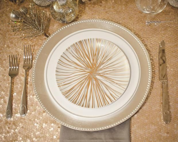 Hostess with the Mostess® - Glam Holiday Table