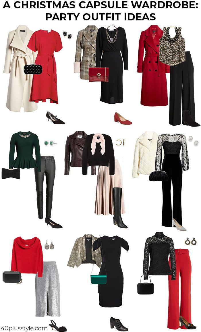 How to dress for a Christmas party: 11 festive outfit ideas #christmaspartyoutfits