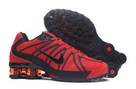 853bf6d31df0 Bright Luster Nike Shox Kpu October Red Black Shox Nz Mens Athletic Running  Shoes Trainers