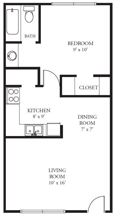 Image Result For 10 X 20 Tiny House Cabin Floor Plans
